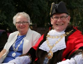 770th Mayor and Mayoress