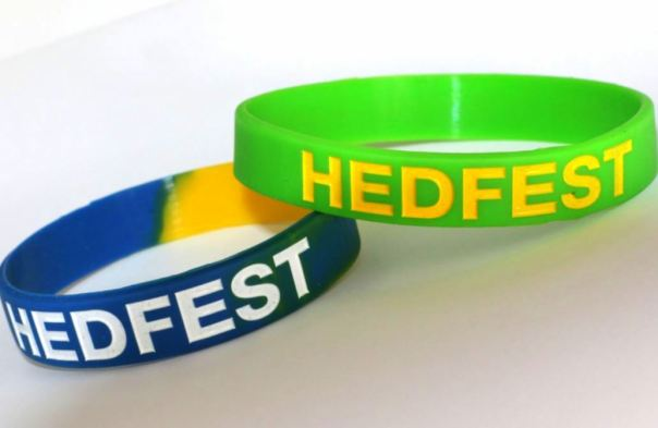 Wristbands HedFest16 snip