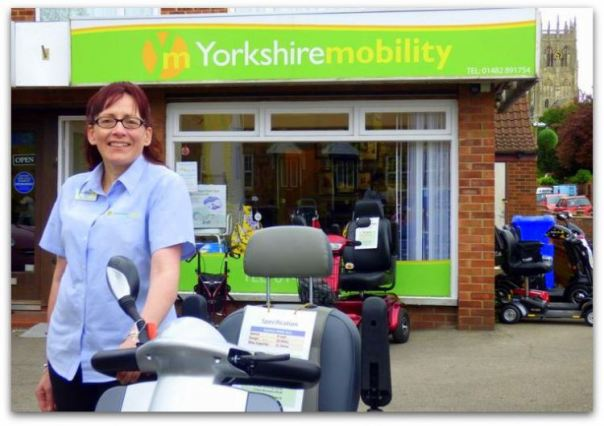 camille yorkshire mobility shop