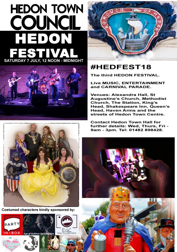 Hedfest Promotional Flyer
