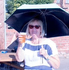 Carole cheers