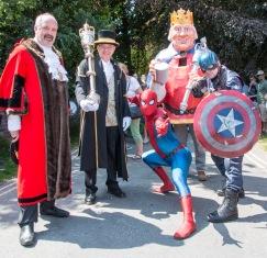 Civic super heroes