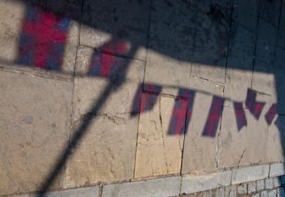 Flags shadows