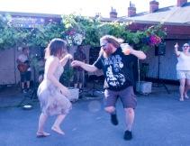 Hedfest dancing Shakespeare