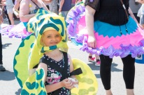 Parade butterfly girl 2