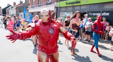 Parade Iron Man