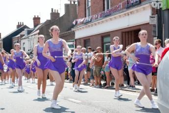 Parade twirlers 2