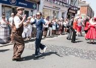 Parade vintage dance