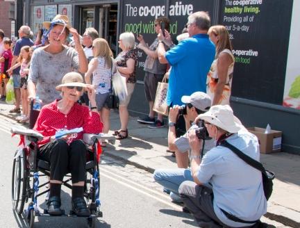 Photographers Parade
